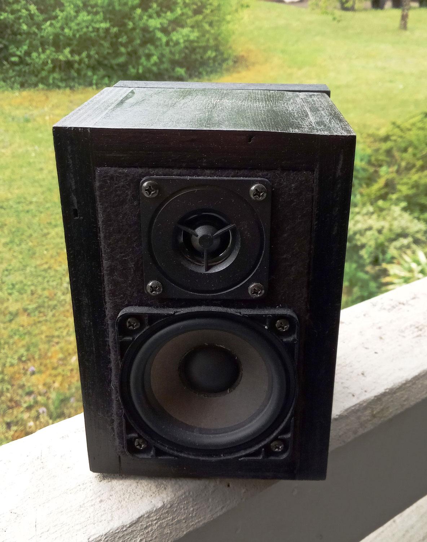 kleine Lautsprecherboxen